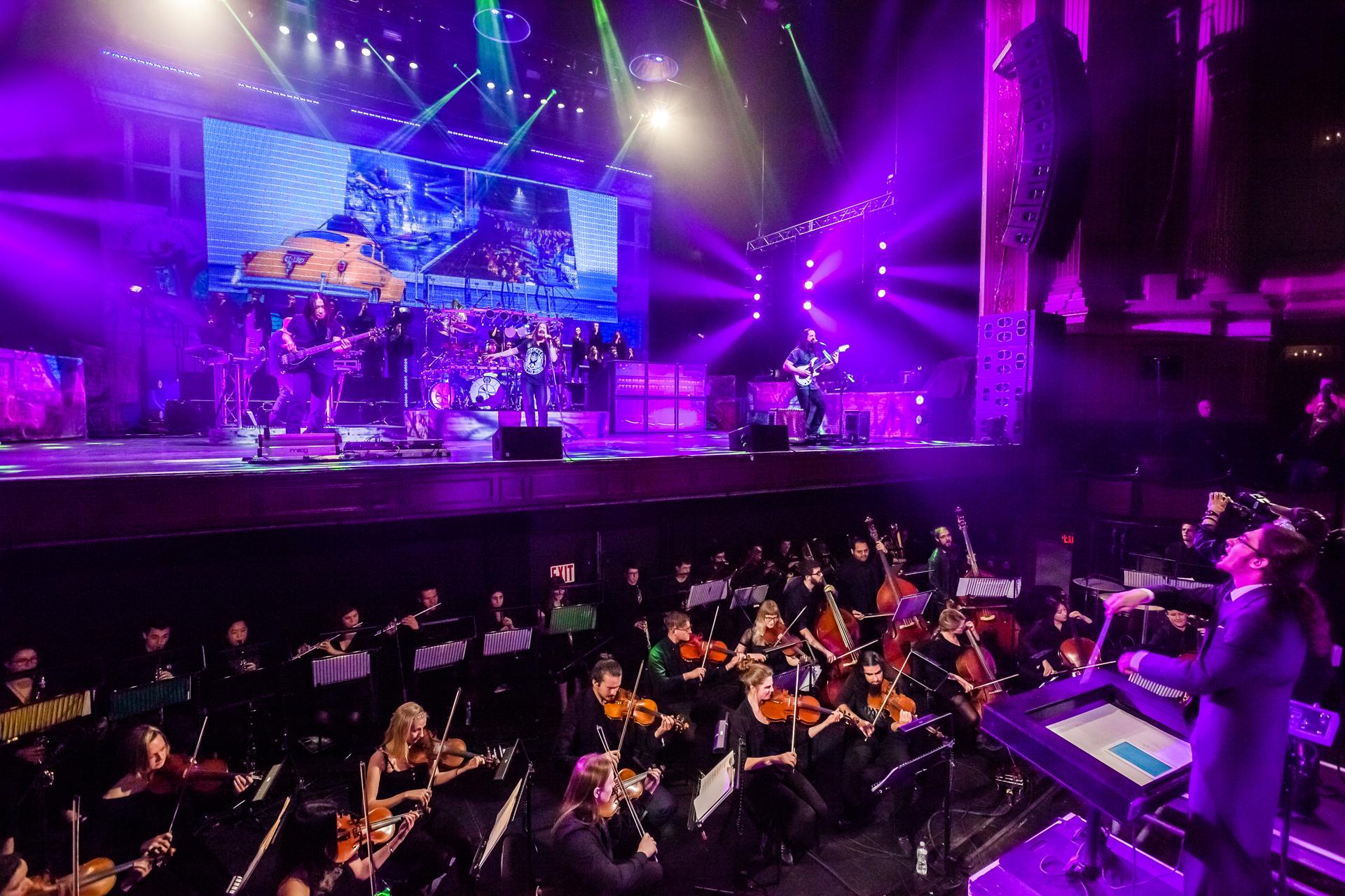 Dream Theater, live at the Boston Opera House