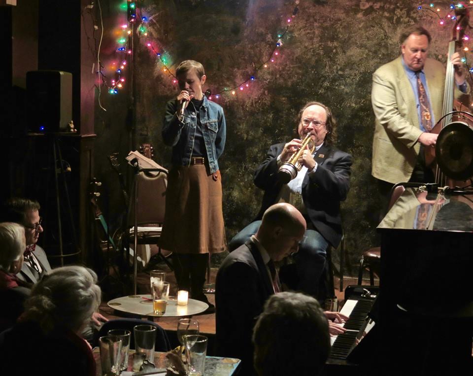 The inimitable Kat Edmonson joins Jon-Erik Kellso, Brian Nalepka and Conal Fowkes Photo: Neal Siegal