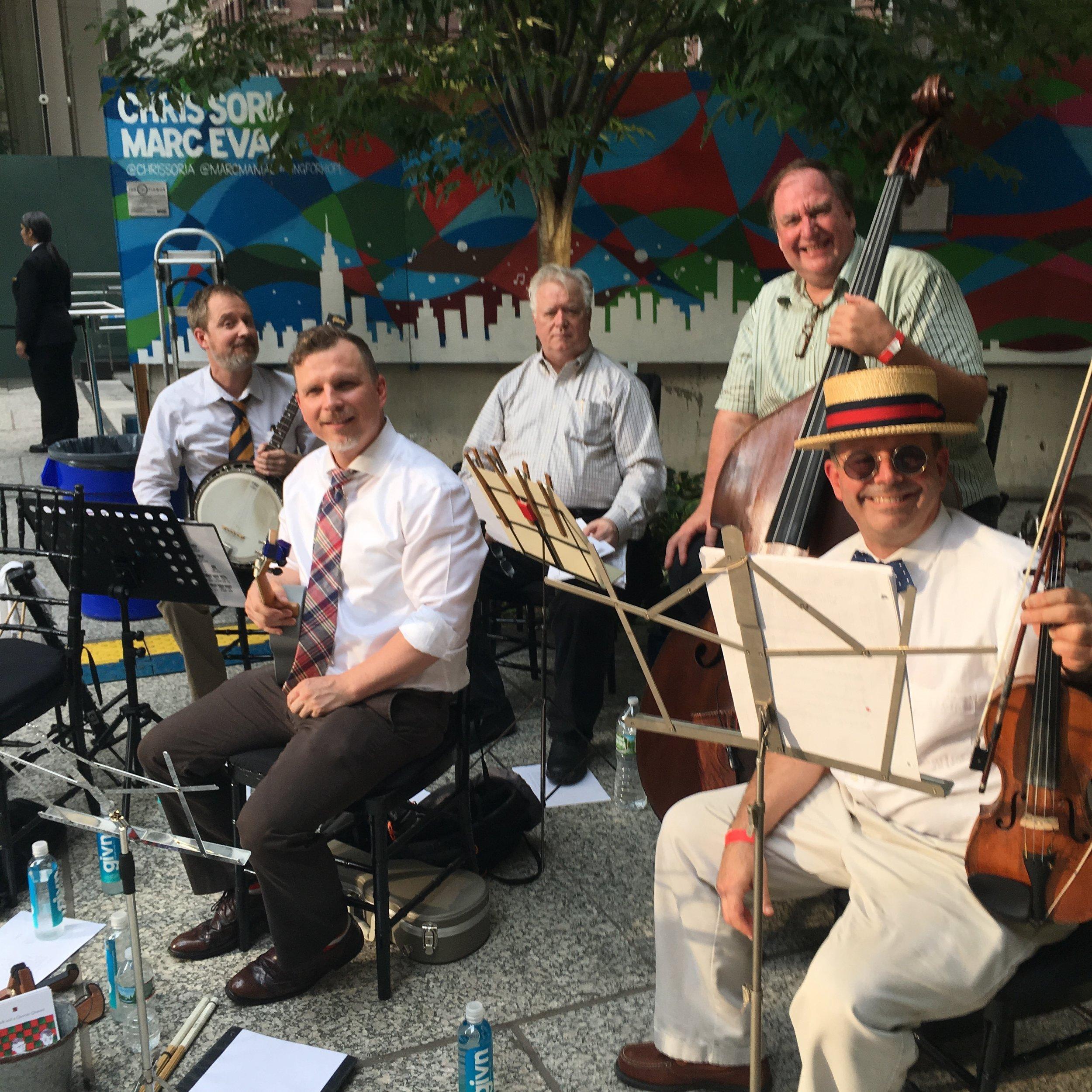 At Edible NY's Liberty Plaza event, July 2017