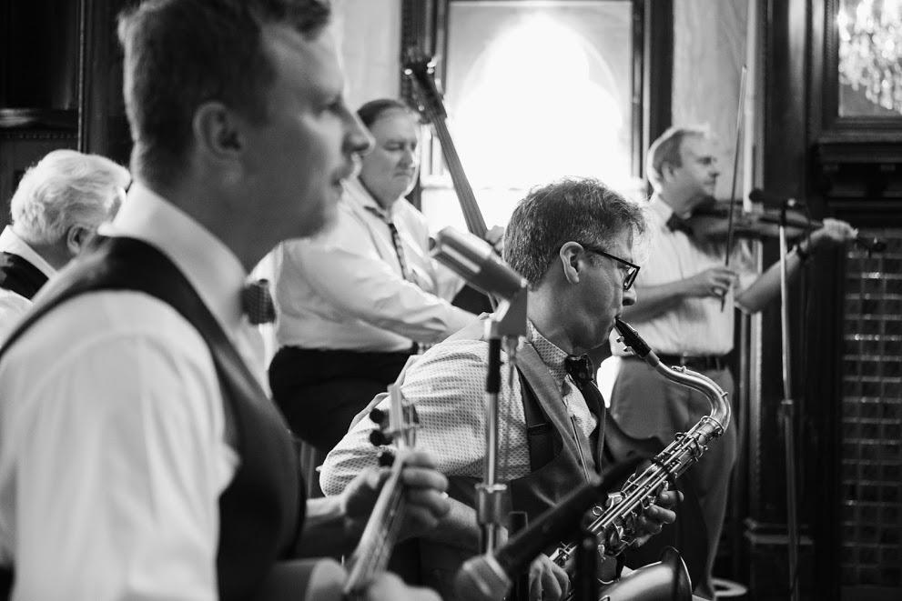 Ben and John B. at Michael and Diana's wedding, the Montauk Club, 2018 -  Saskia Kahn Photography