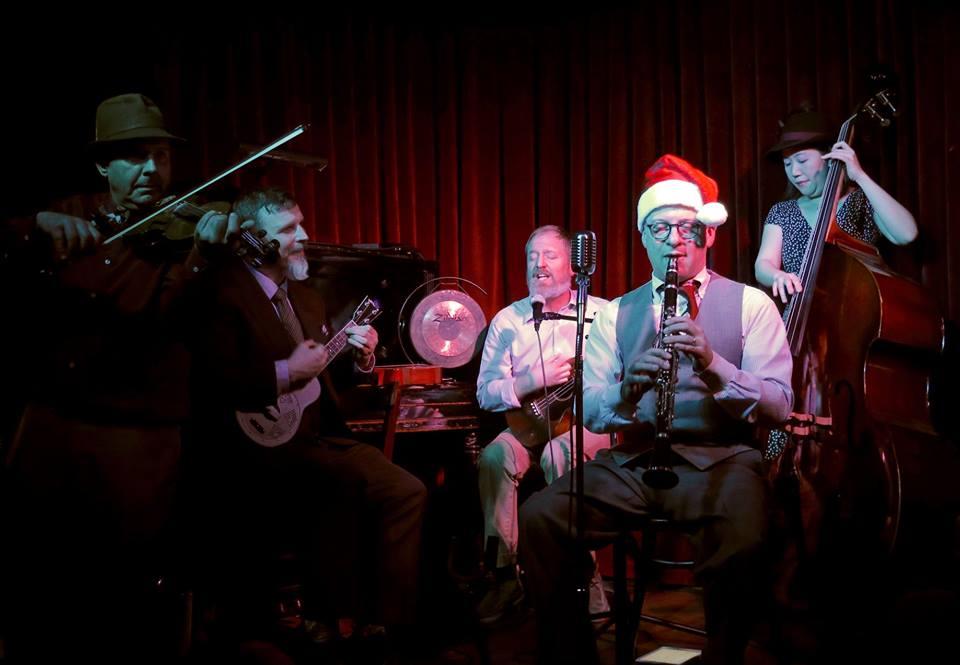The Holiday Ukulele Cabaret at Red Room, December 2018.