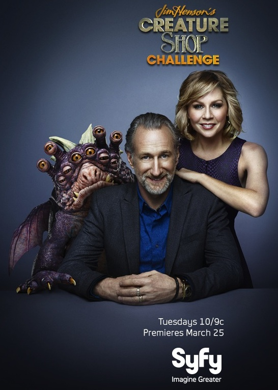 Gigi Edgley Host of Jim Henson's Creature Shop Challenge