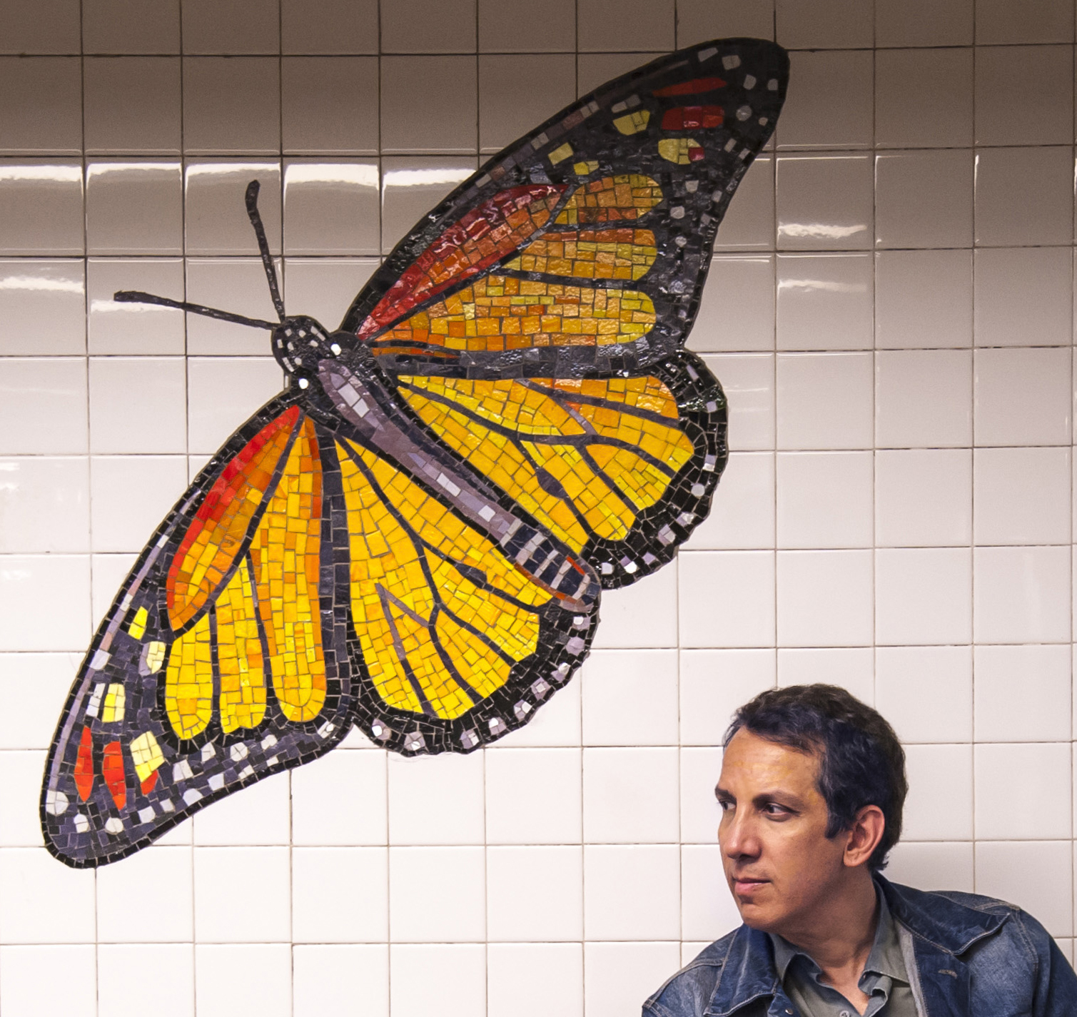 Peter Kuper, artist at MAD Magazine.