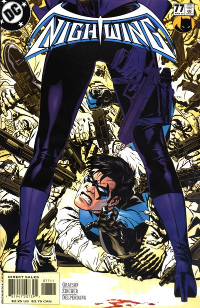 Michael Golden Nightwing Cover Art