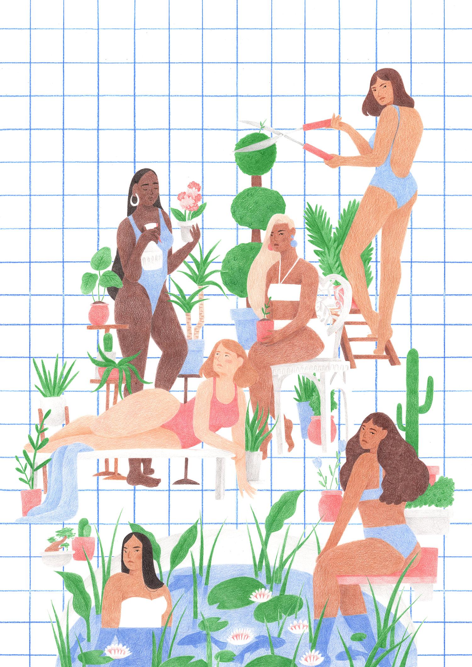 Print created for  Nine By Nine , 2018