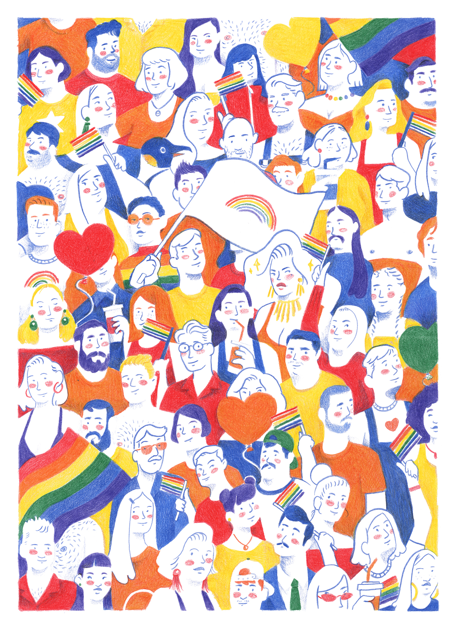 Original Penguin Pride T-Shirt design, 2018