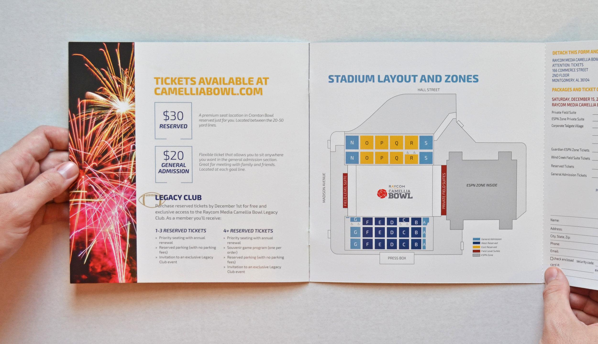 Camellia Bowl   Sales Brochure Design & Layout