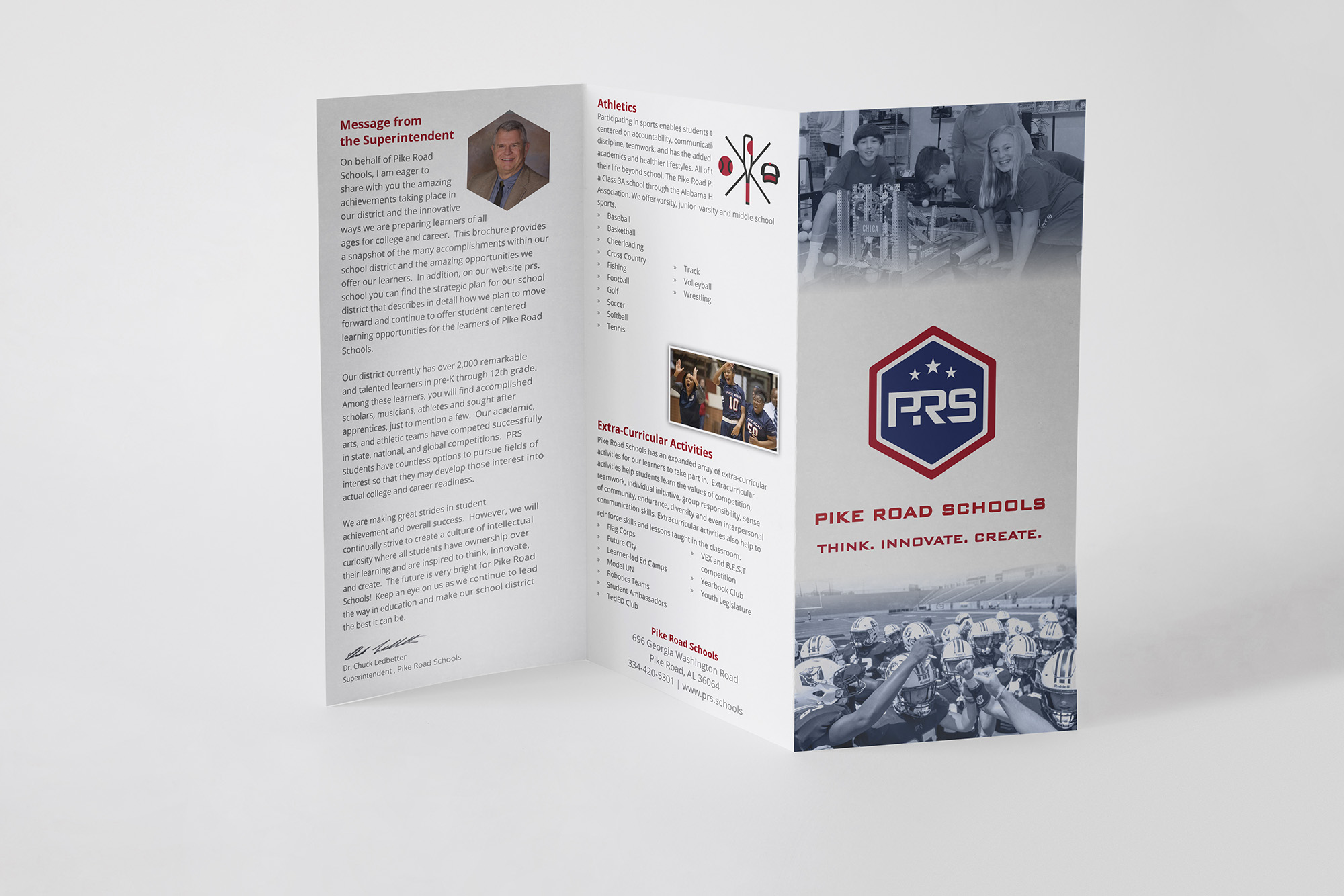 Promotional Tri-Fold for PRS