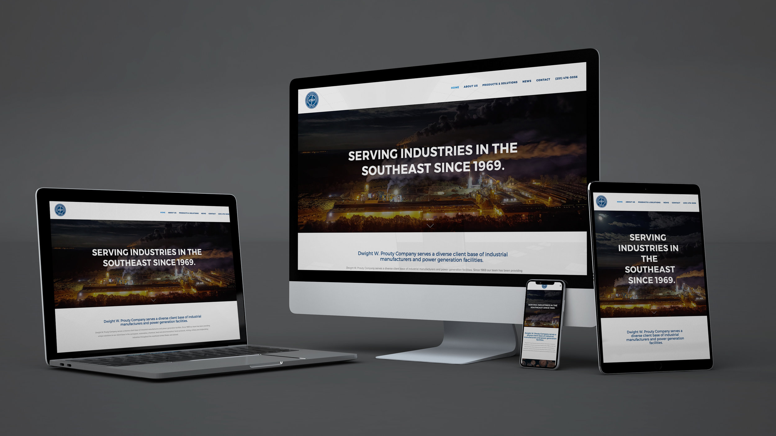 New and Improved Responsive Website