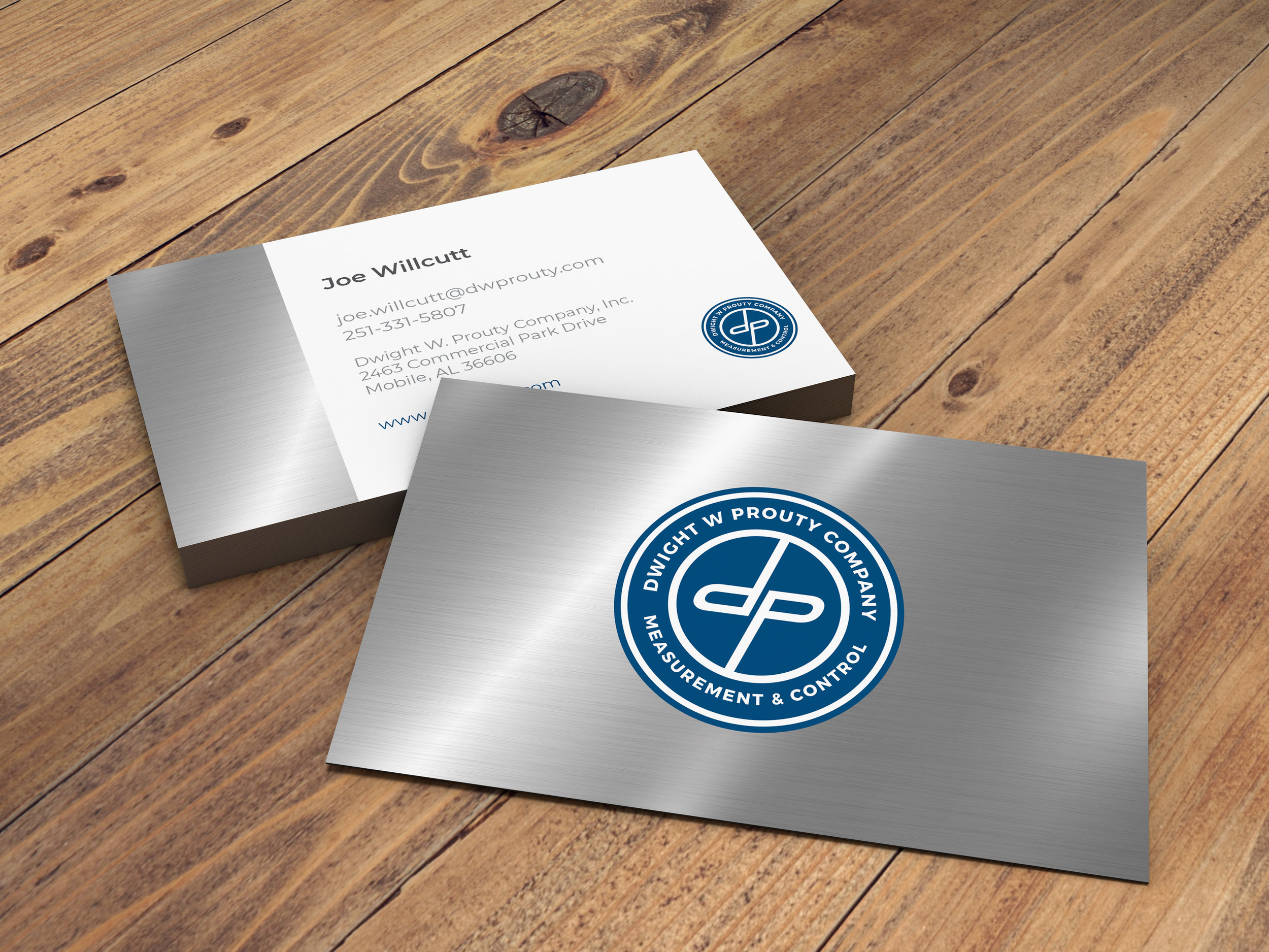 Company Business Cards Designed
