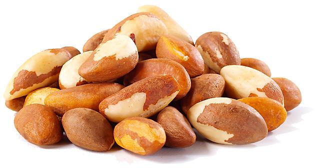 Brazil Nuts, Organic: $3.74 / 100g