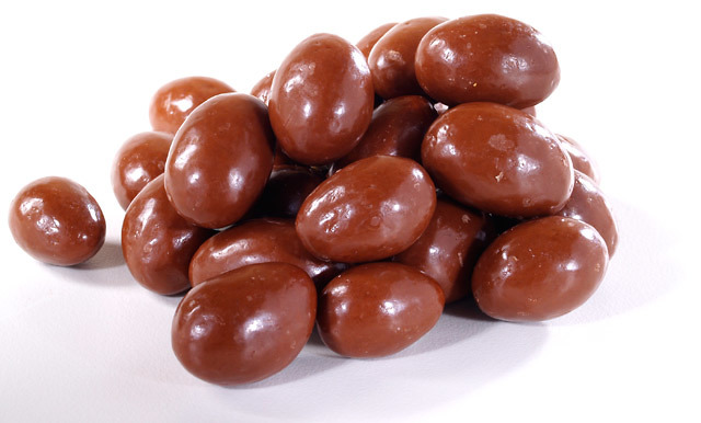 Milk Chocolate Almonds: $4.18 / 100g (OUT OF STOCK)