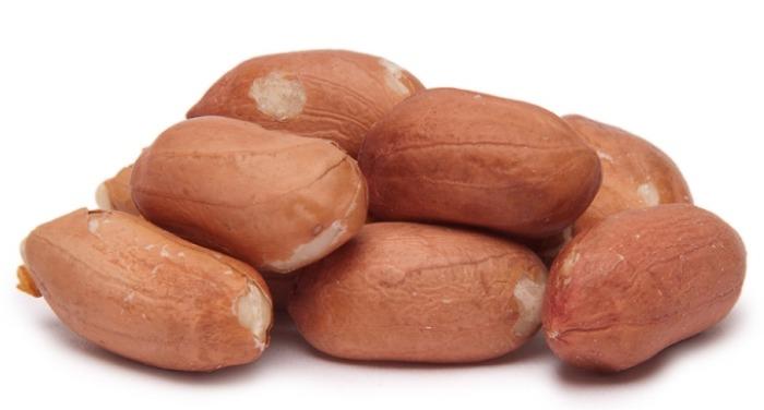Peanuts Red Skin, Organic: $0.66 / 100g