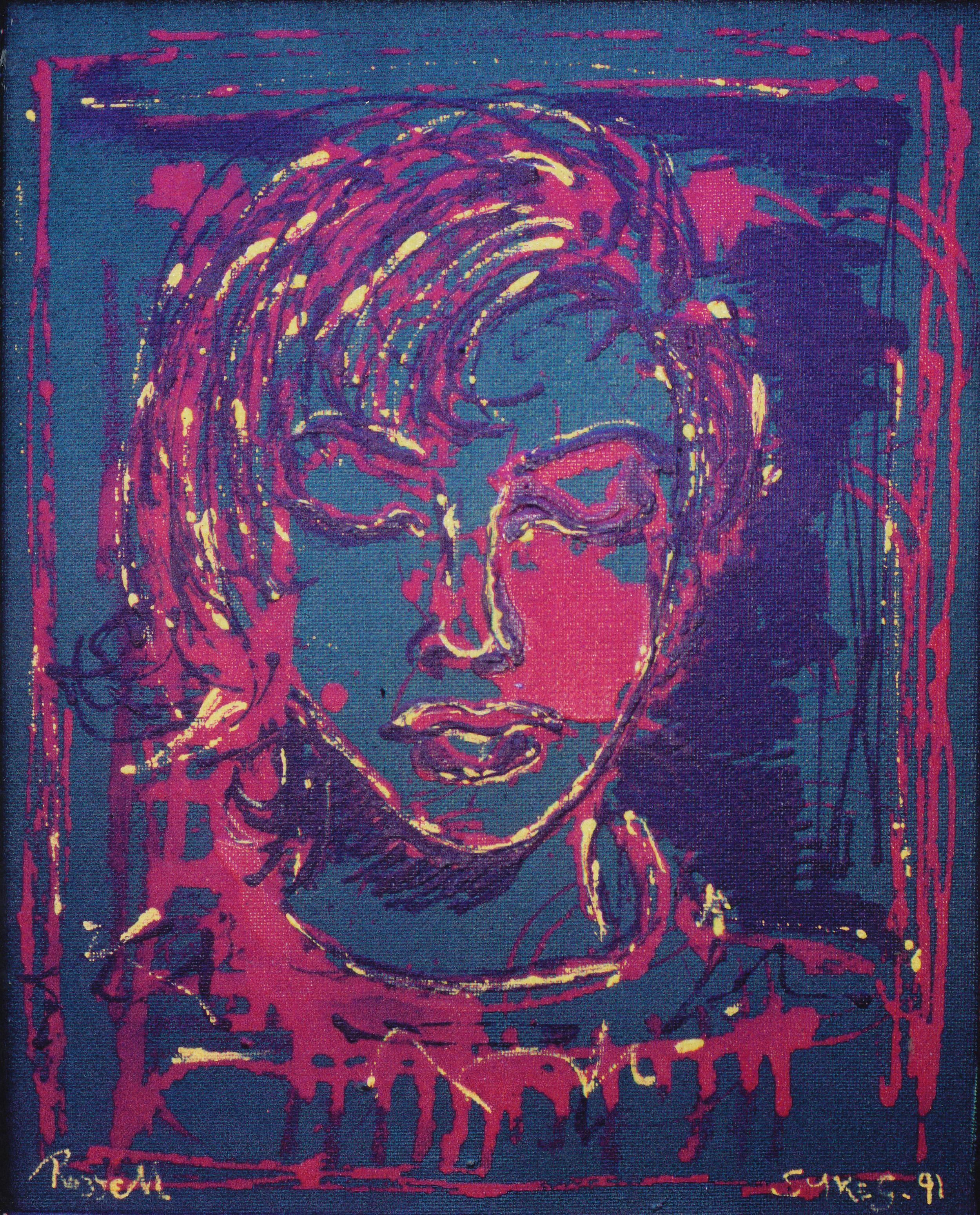 Head of Rozzell Jean Sykes- My Little Girl, 1991