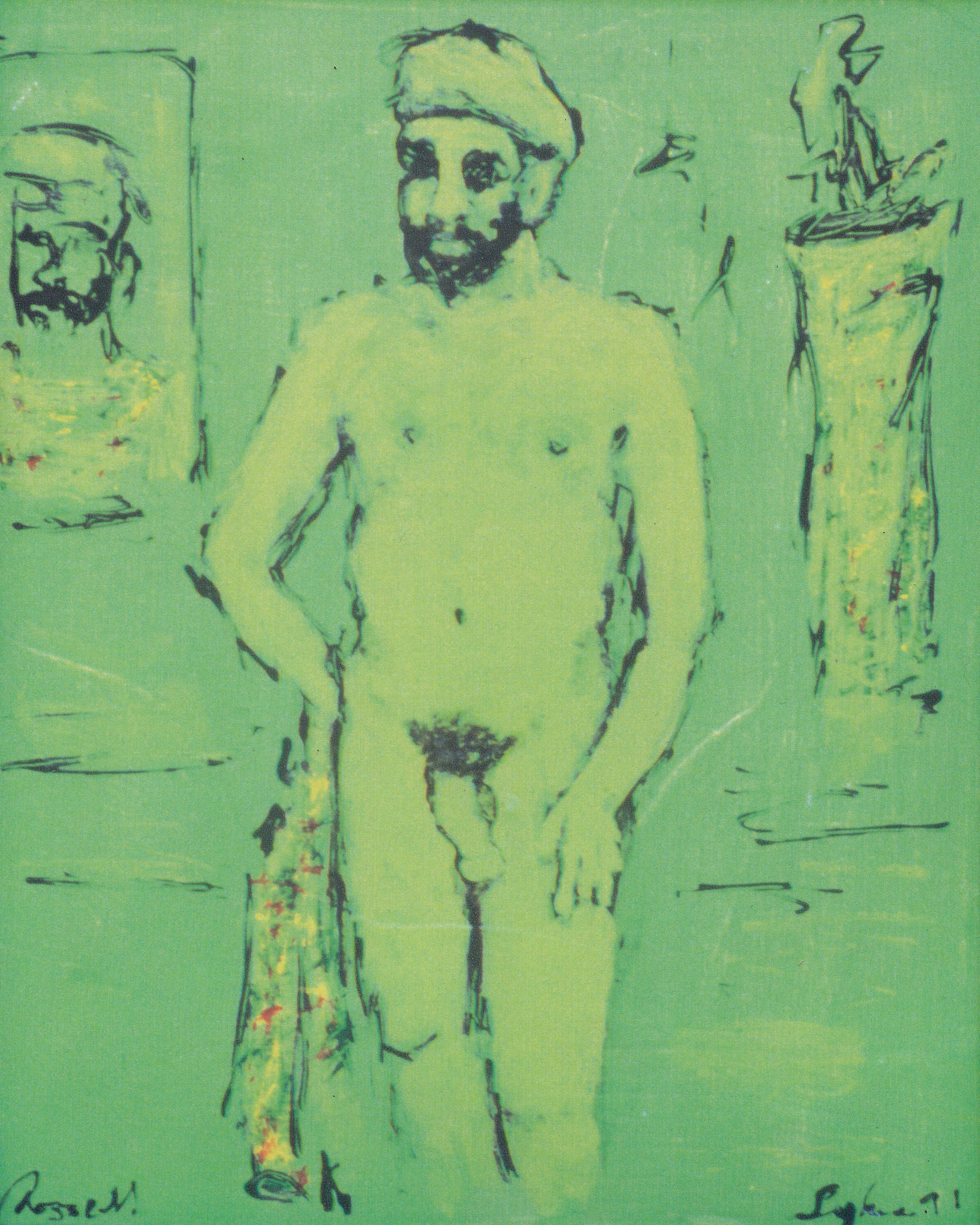 Untitled, Self Portrait, 1991