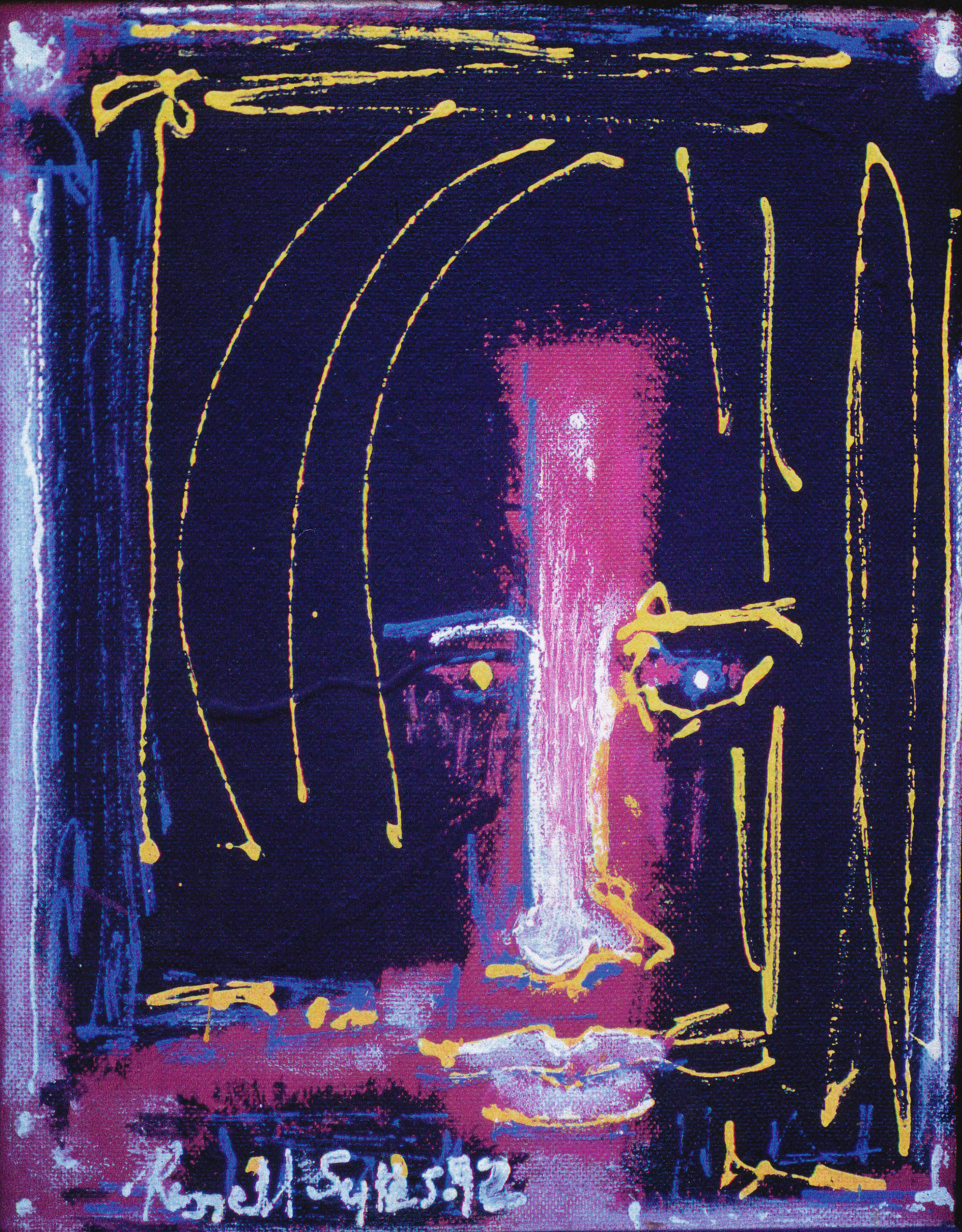 Untitled, Man with Dreads, 1992