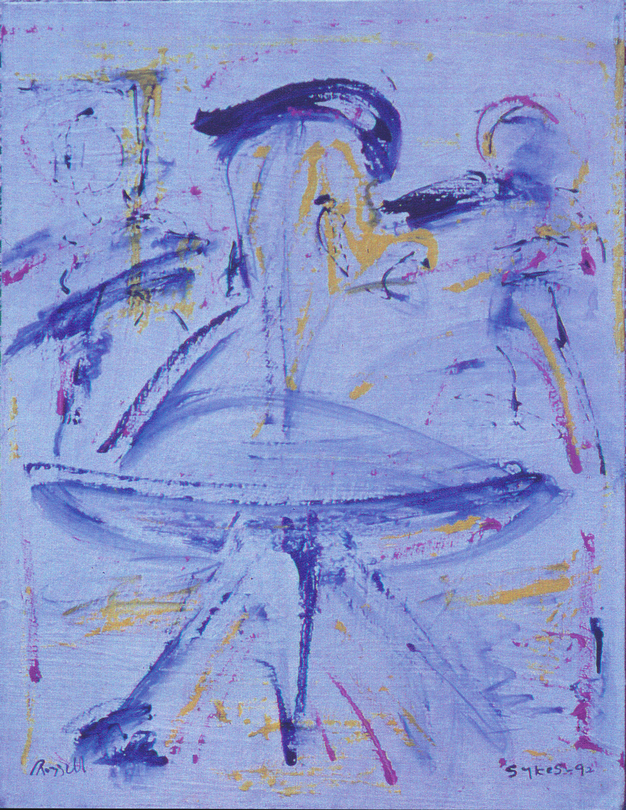 The Dancer Twirling, 1992
