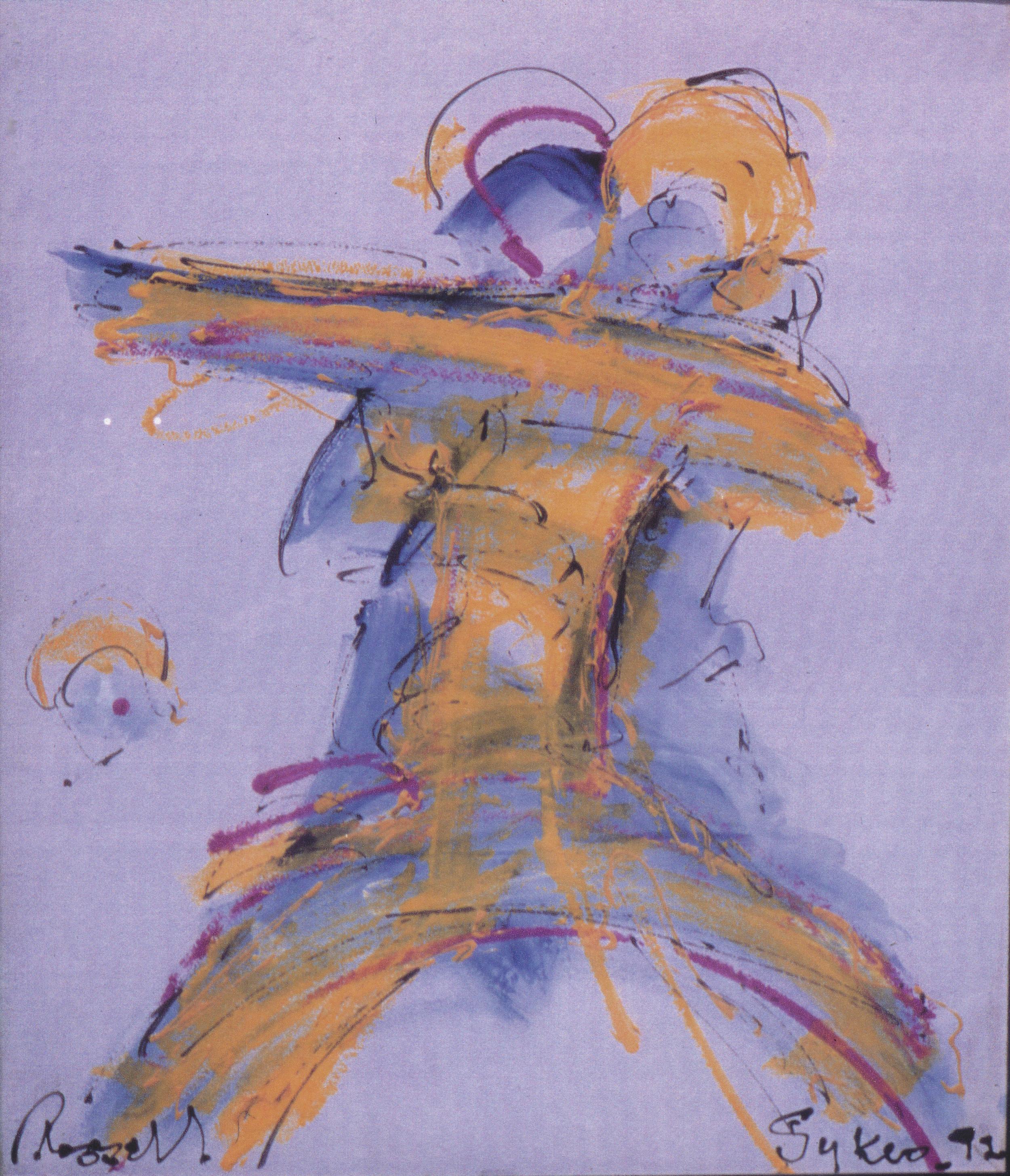 The Dancers.....the Tango, 1992