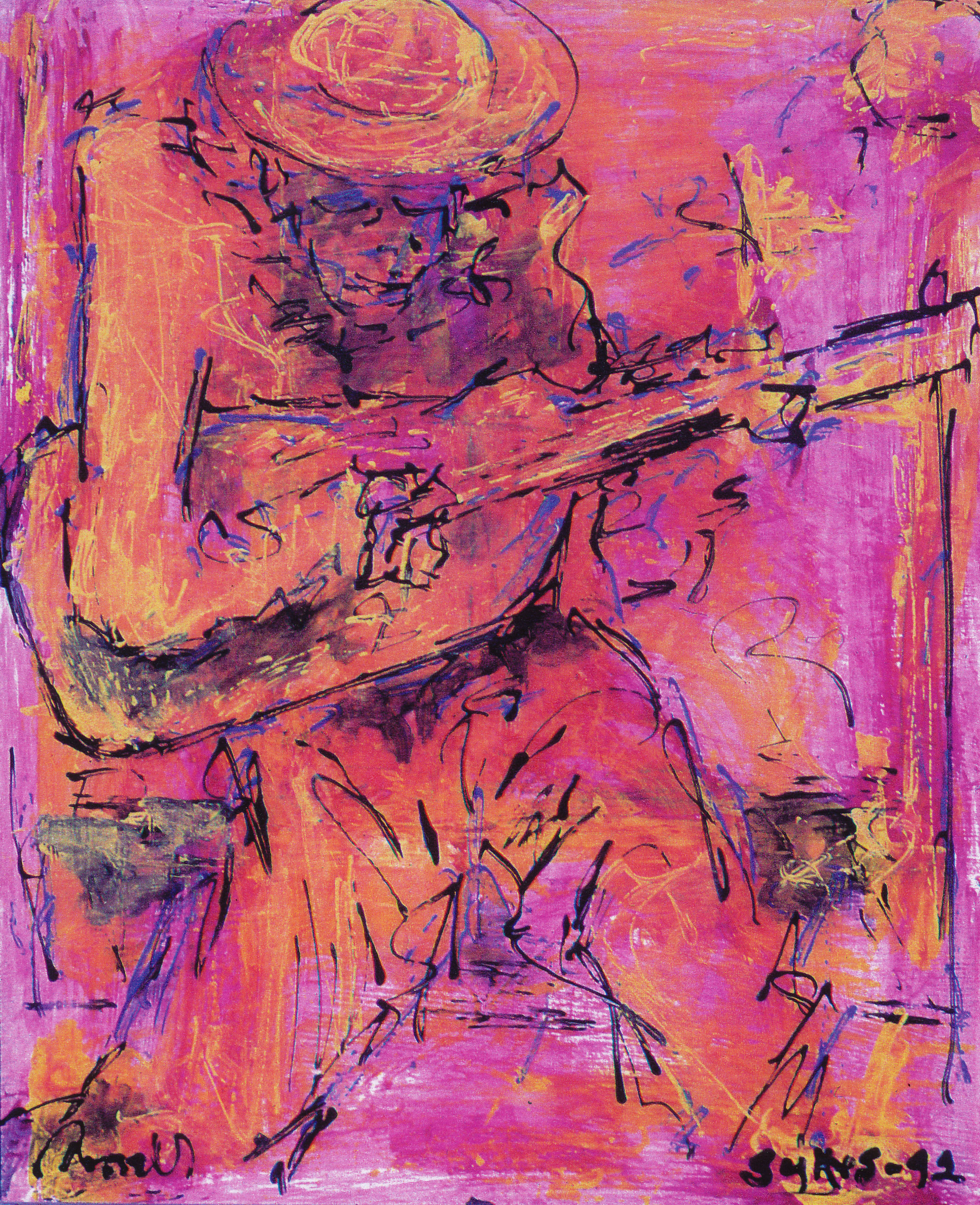The Old Guitar Player, 1992