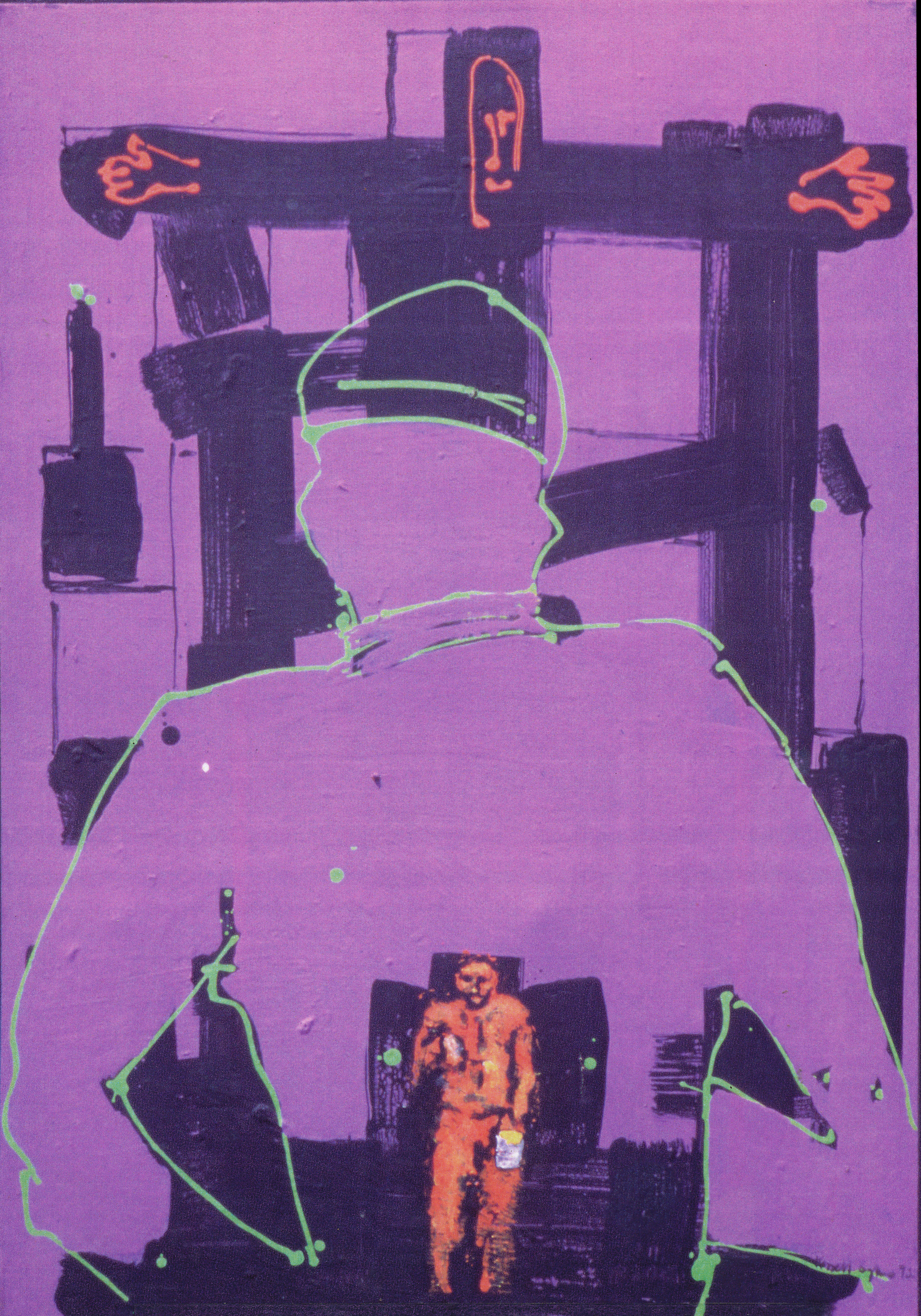 Crucifixion on a Painter, 1992