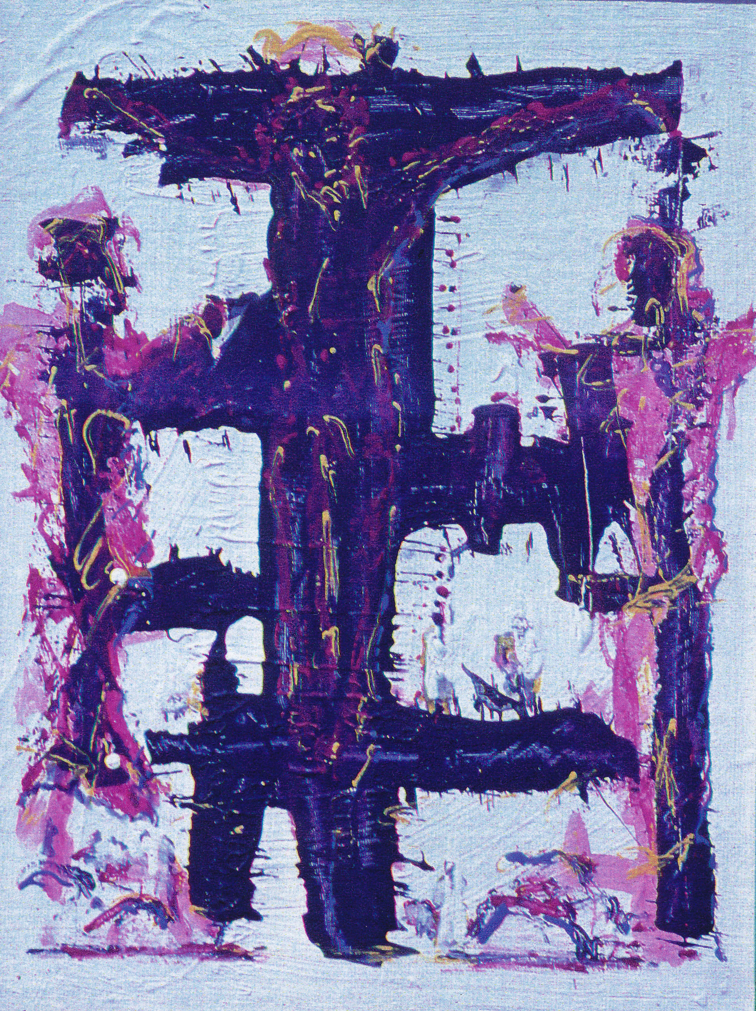 Crucifixion of a Painter II, 1994