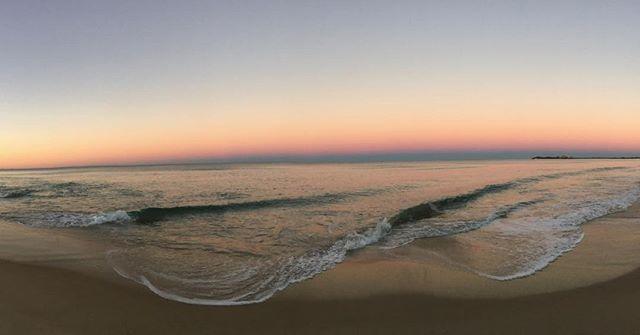 Sunset at Maroochydore, Sunshine Coast this evening.