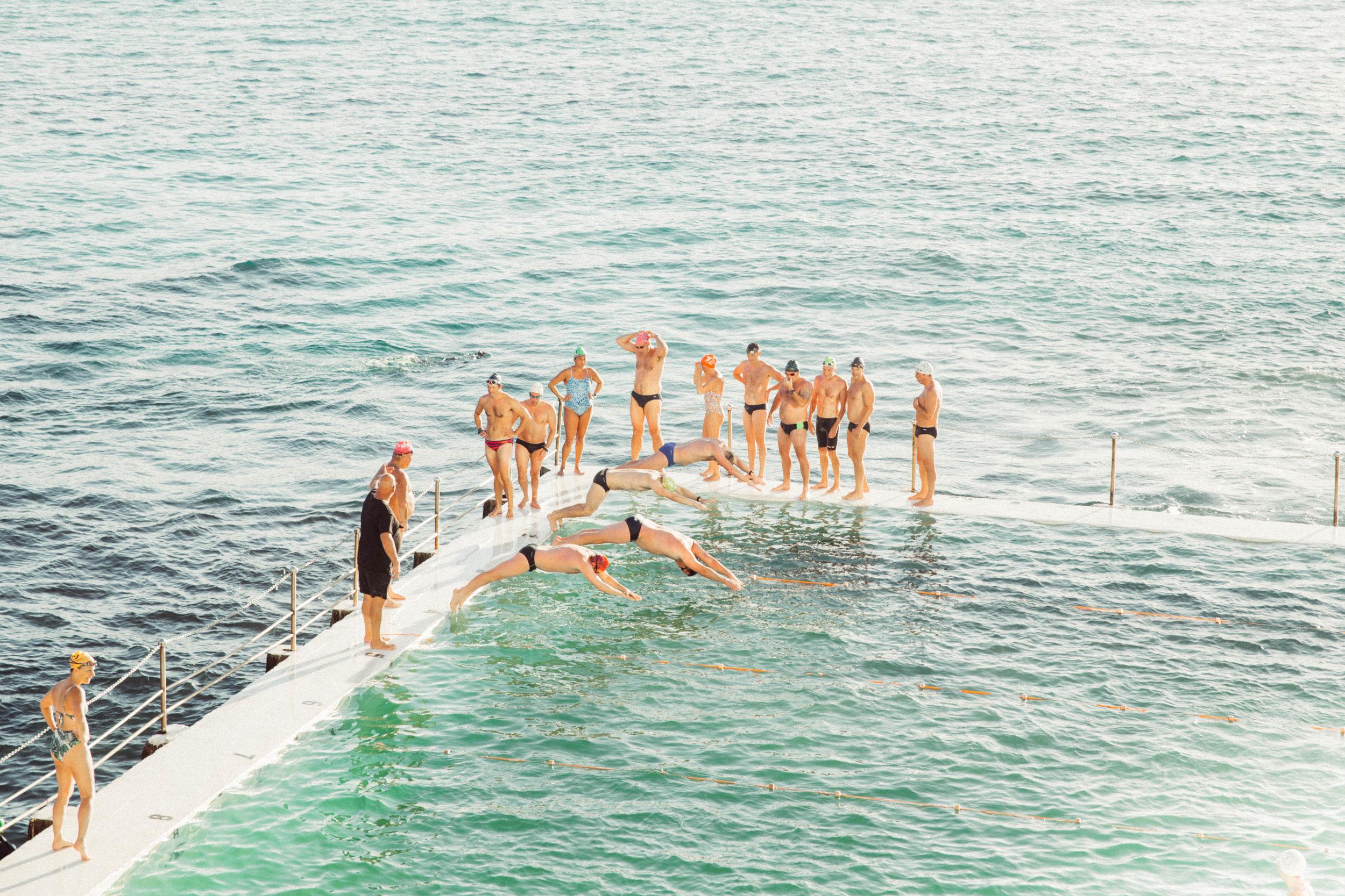 Iceberg Swim Practice
