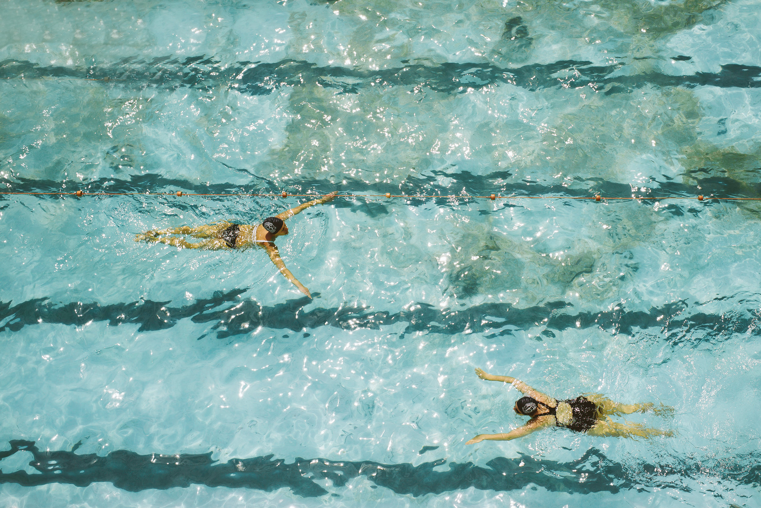Twin Swimmers