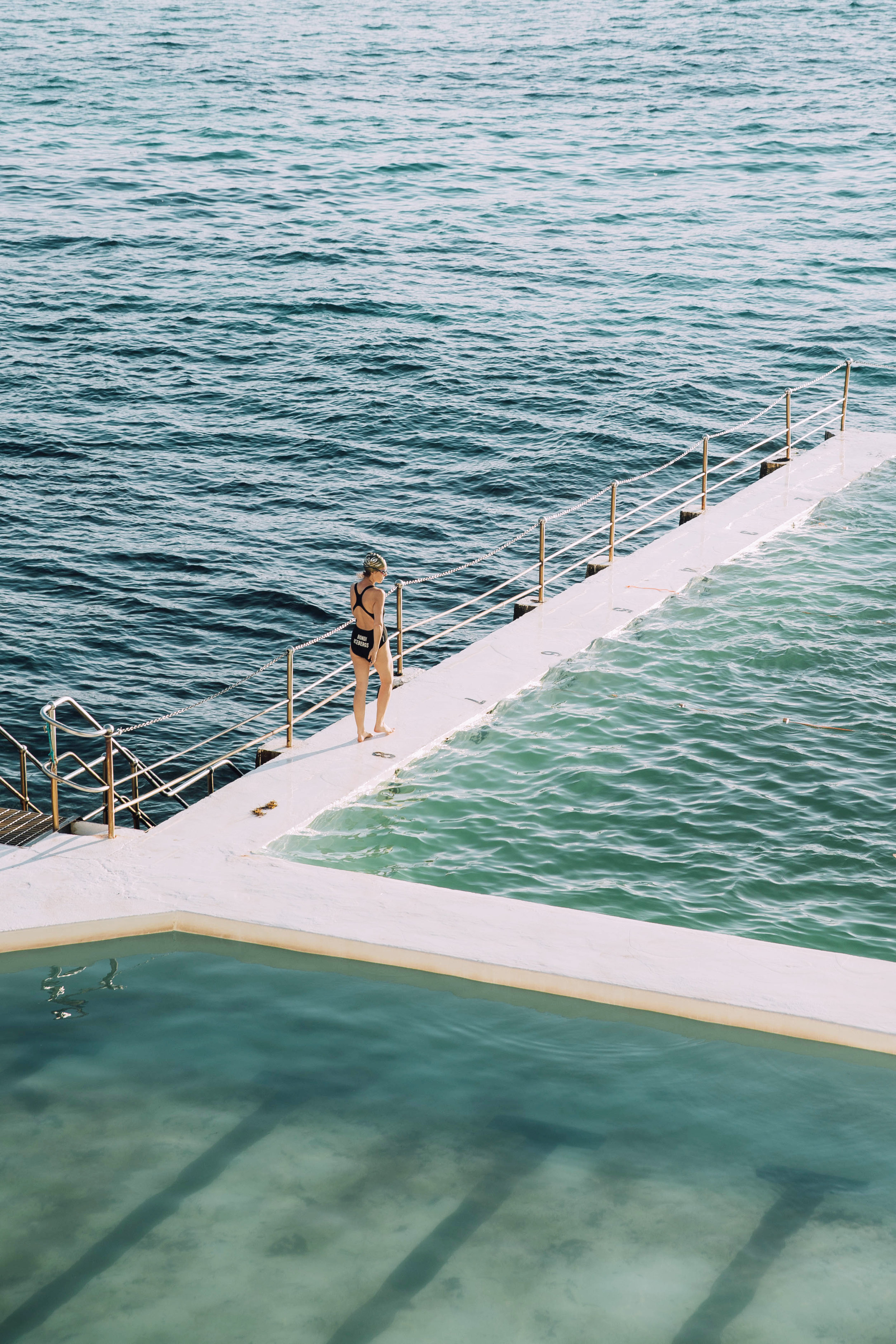 The Lonely Swimmer