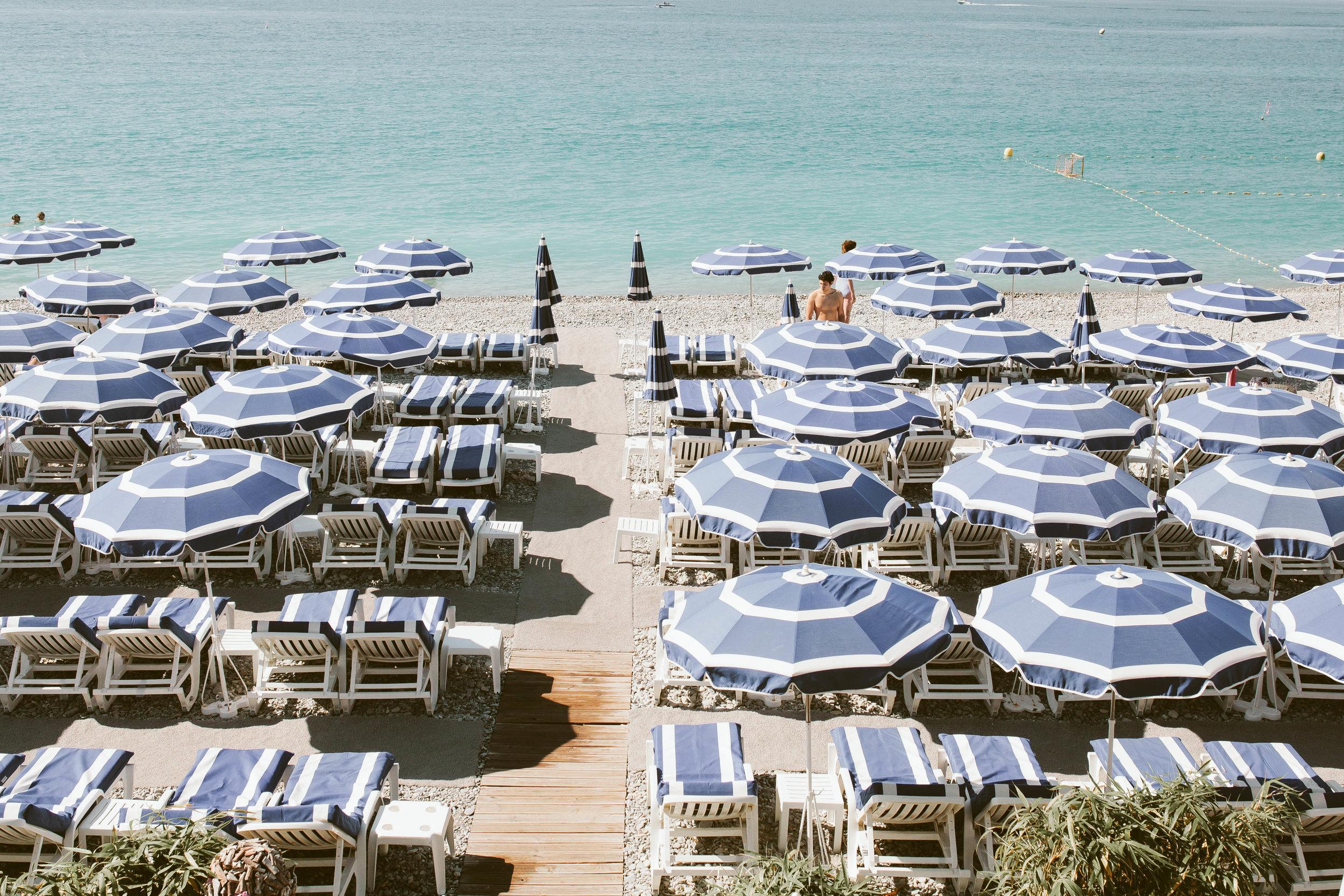 Blue Hue Umbrellas