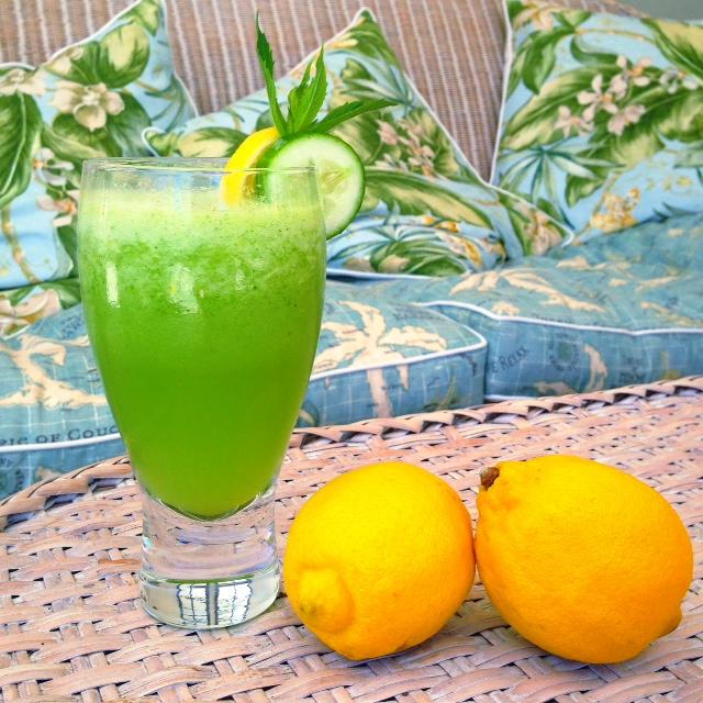alkalising lemonade with lemons