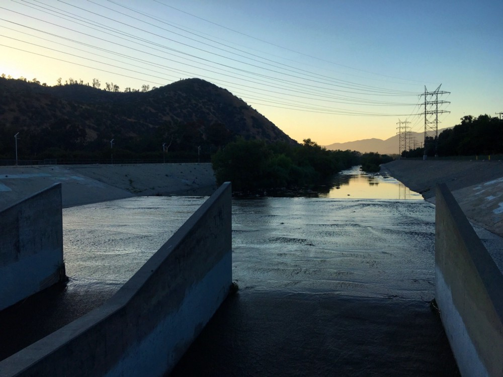 Los Angeles River June 2016  ©  AdeleJacques