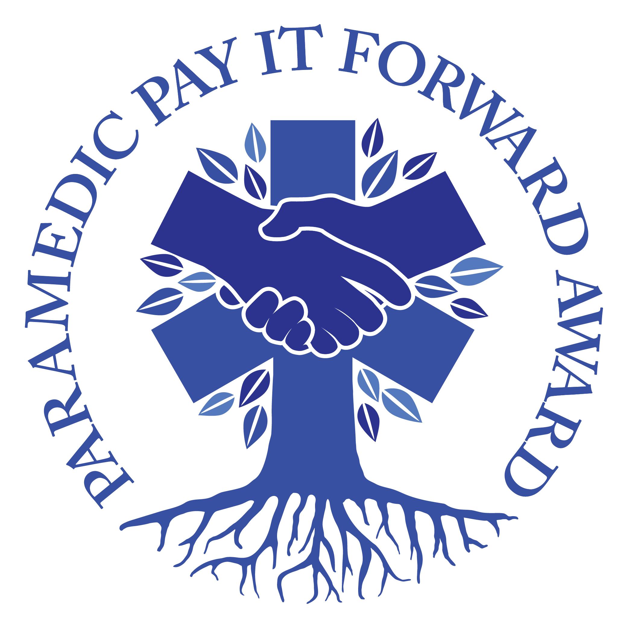 Paramedic Pay It Forward Award Logo