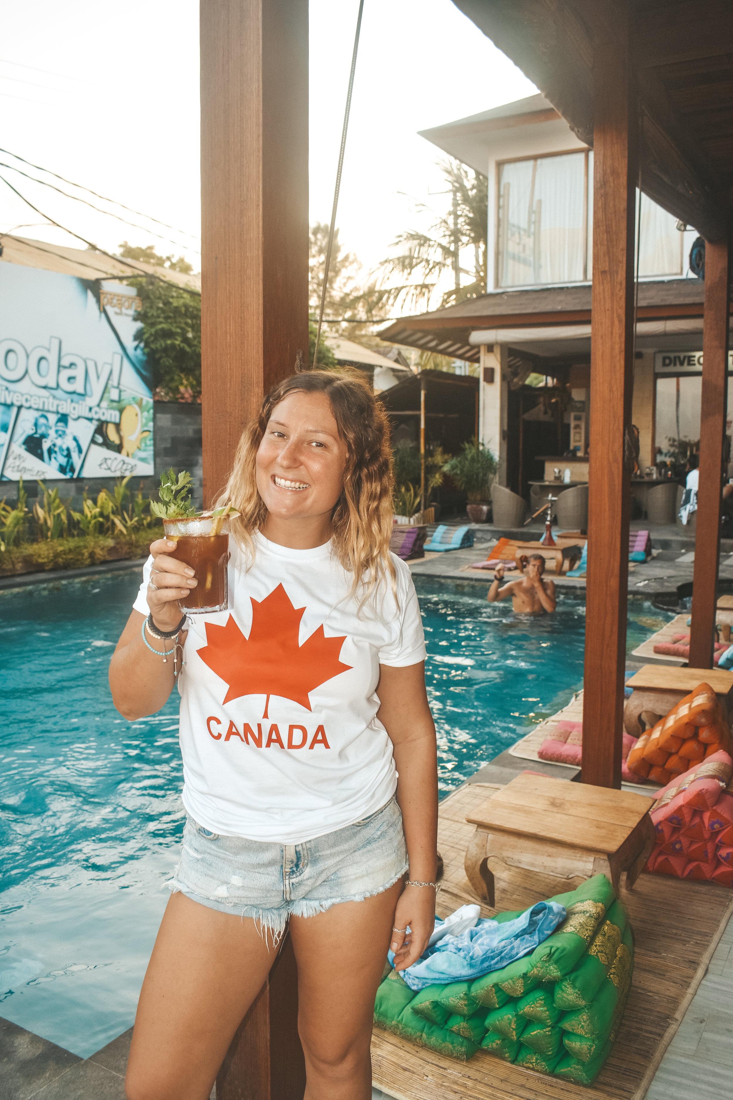 Canadian Caesars only at Pesona Resort