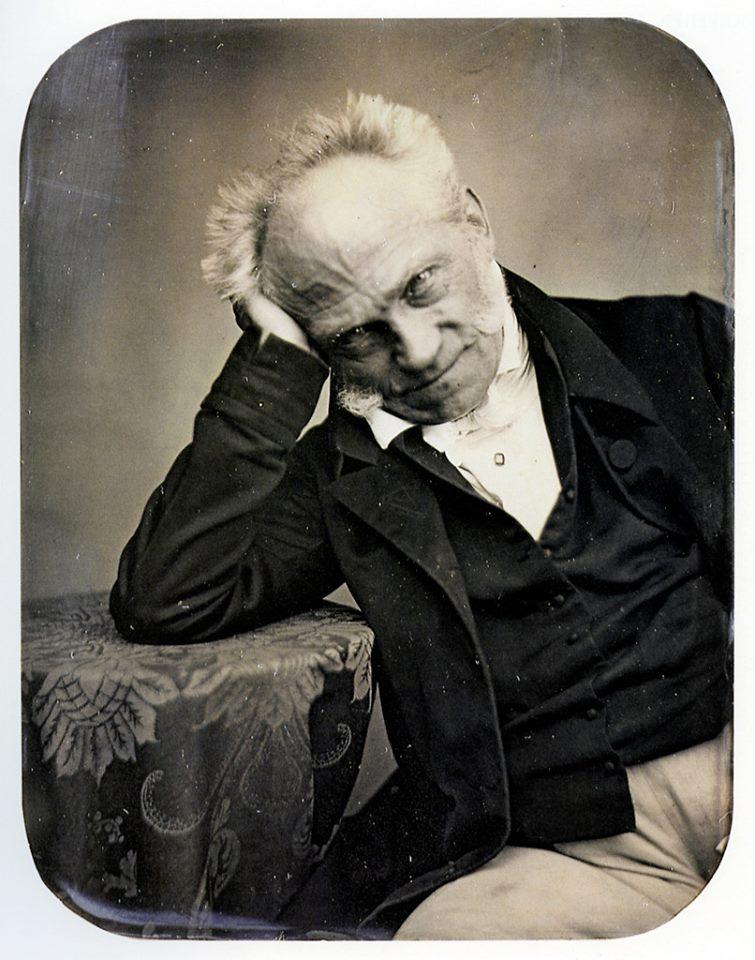 Arthur Schopenhauer um 1852. Foto:Jacob Seib -Eberhard Mayer-Wegelin, Frühe Photographie in Frankfurt am Main 1839-1870, 1982, Nr. 10. © Gemeinfreies Werk
