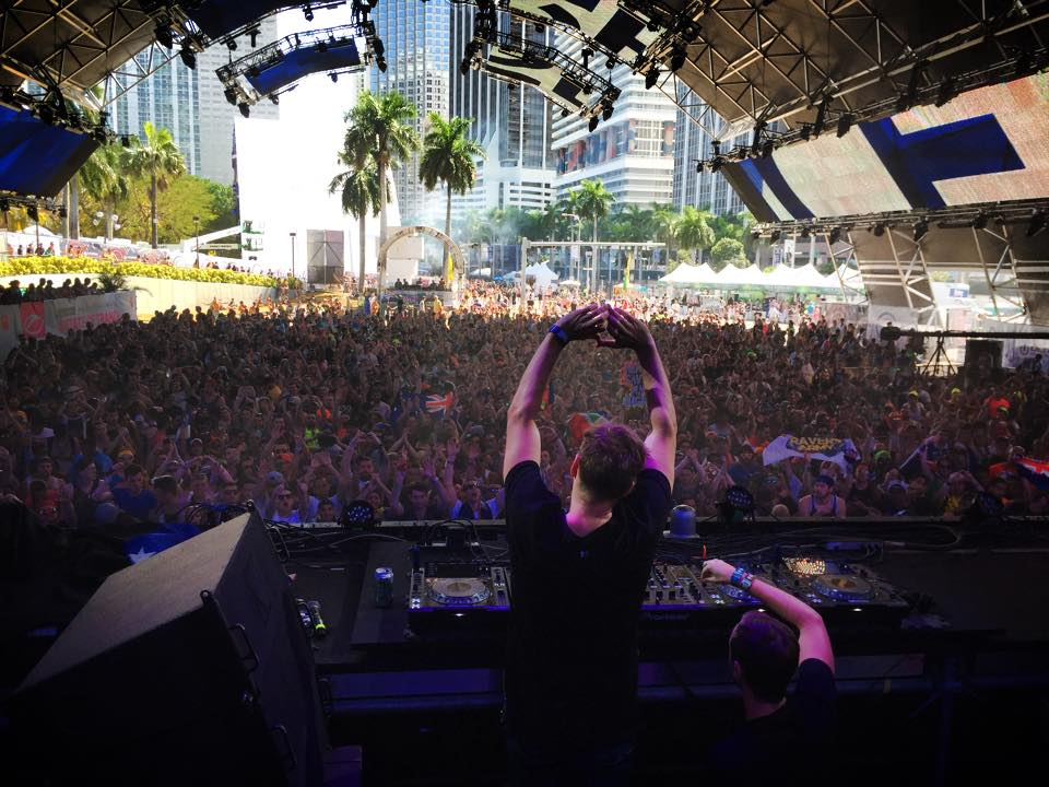 Marlo at Ultra Music Festival in Miami