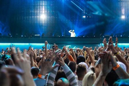 Armin van Buuren in Minsk-Arena