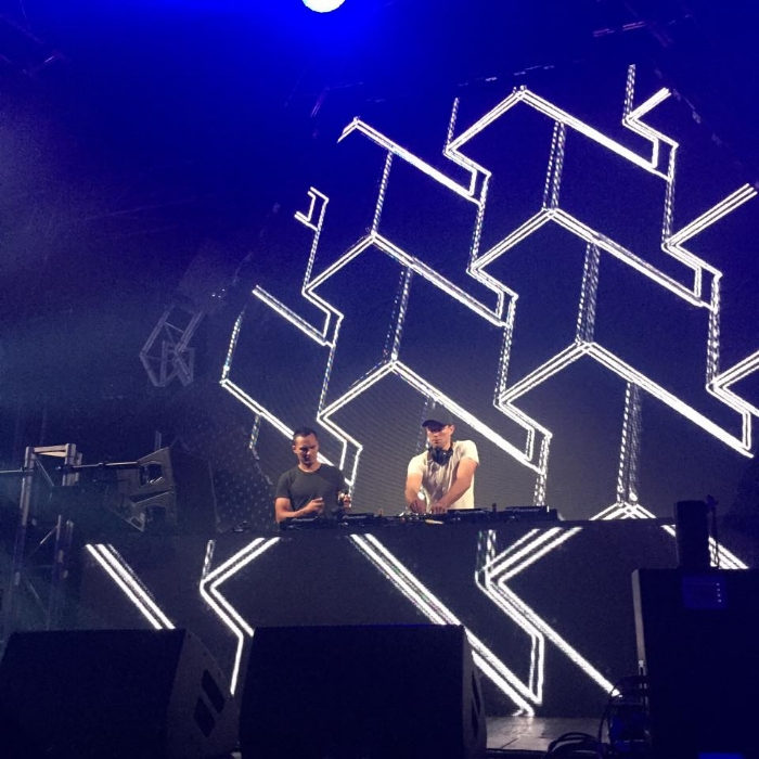 Mike Power & Jerome Isma-ae at Festival Hall, Melbourne, Cosmic Gate start to feel tour.