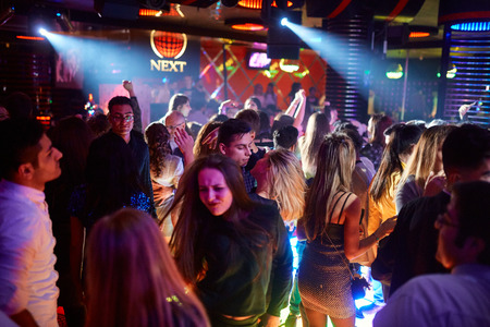 People Dancing in Nightclub 2 450 Height x 300 Width