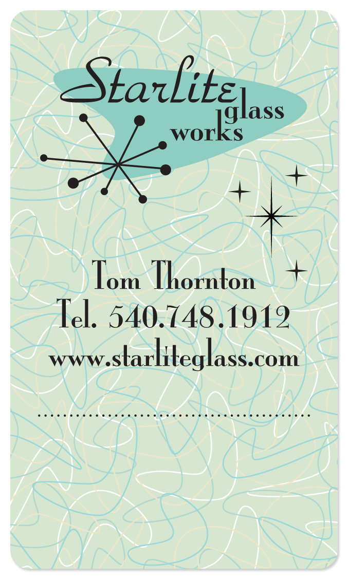 Business Card/Sales Tag