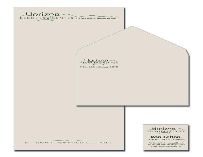 Letterhead, Envelope & Business Card