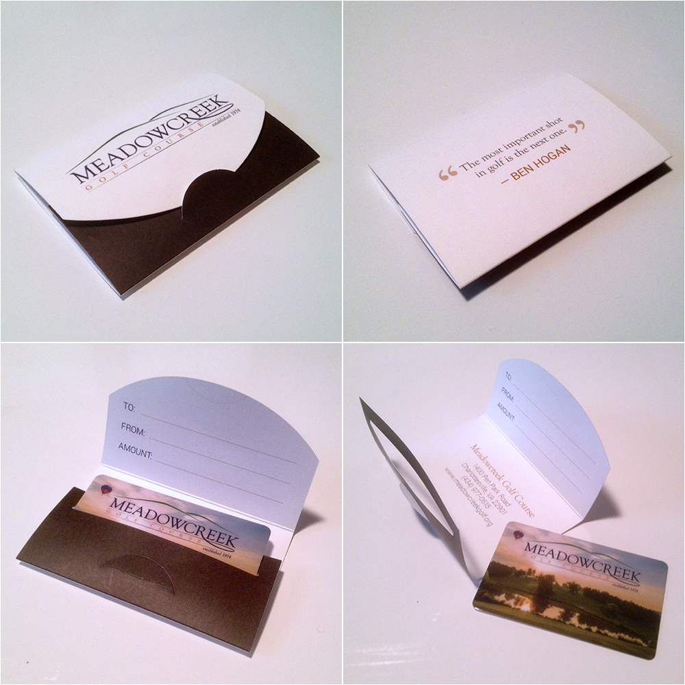 Gift Card and Packaging Design