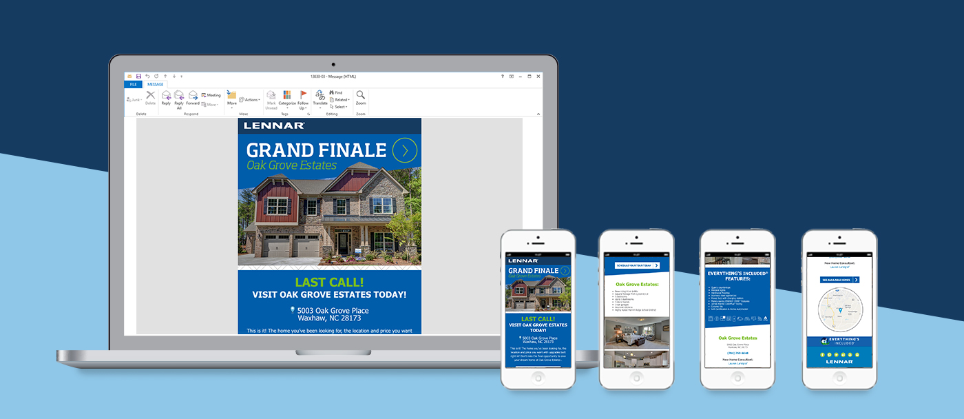Responsive email design and development