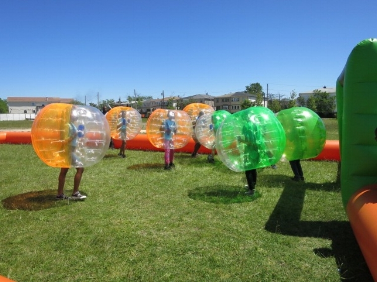 Scholars have a variety of athletic activities to choose from during the annual Field Day.