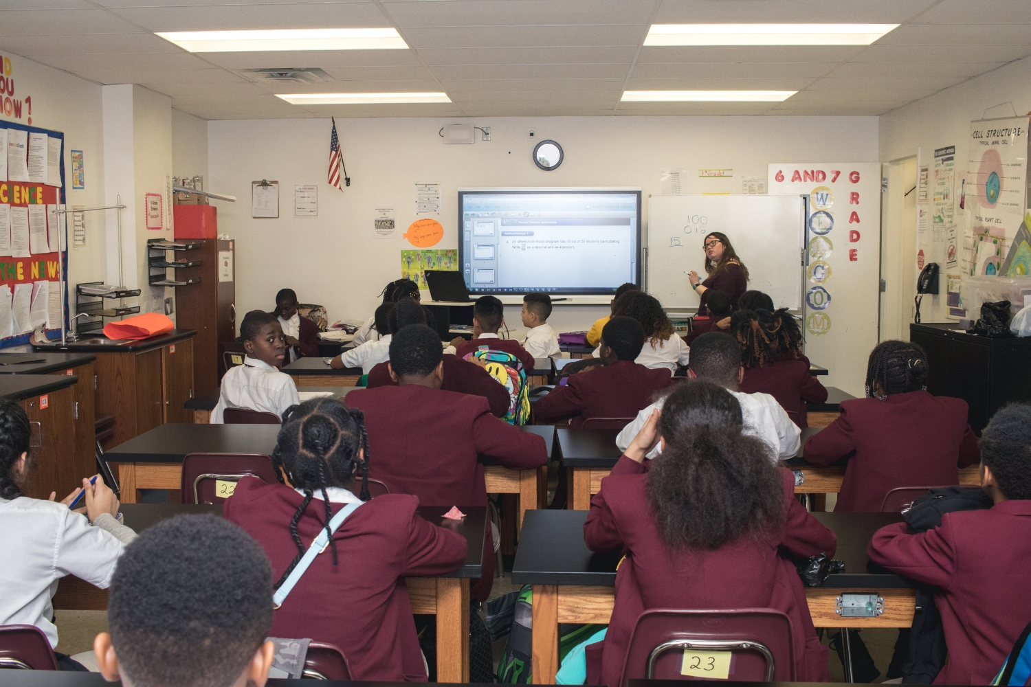 CCMS scholars have the chance for accelerated learning in Math.
