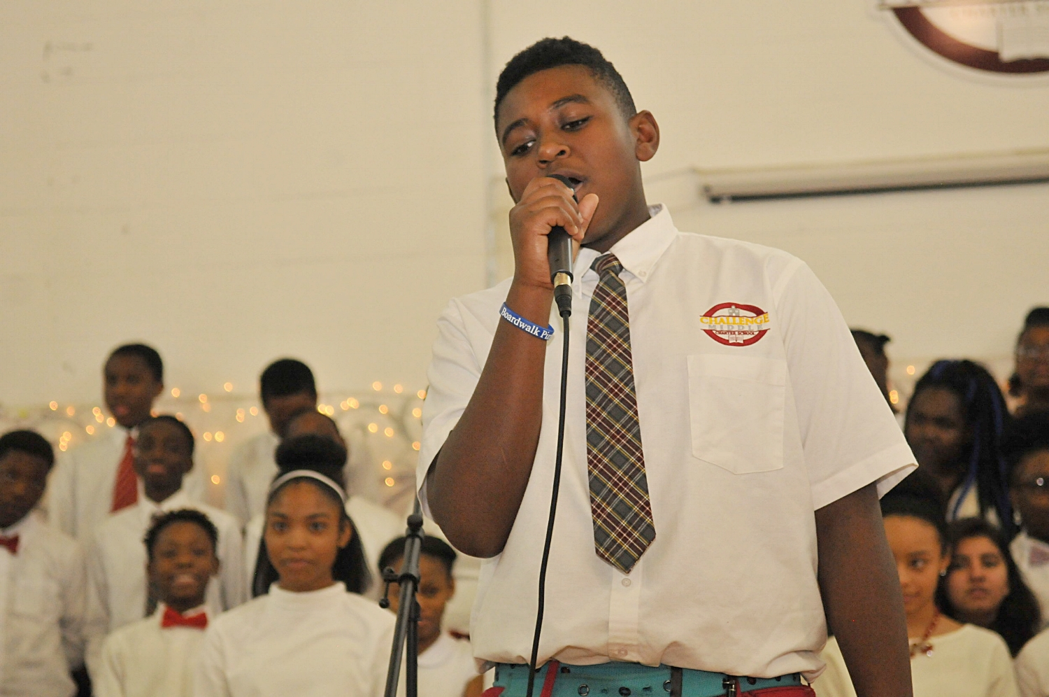 CCMS Students have opportunities to perform in regular shows and assemblies.