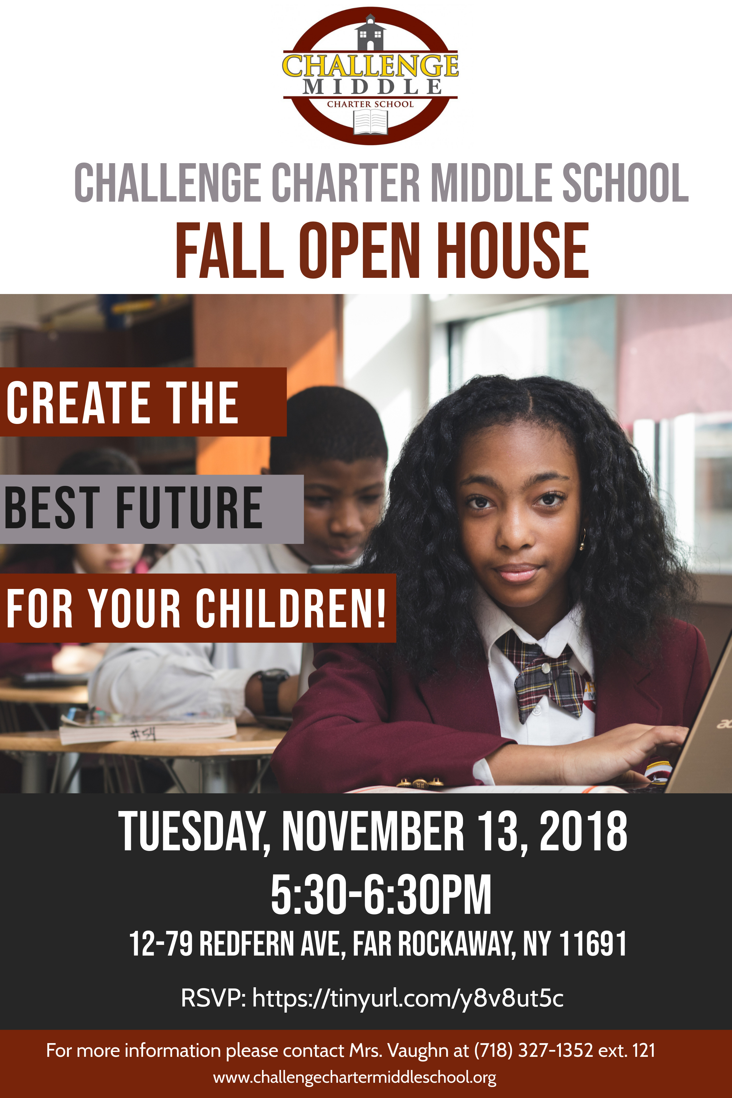 Open House Flyer 5th Grade