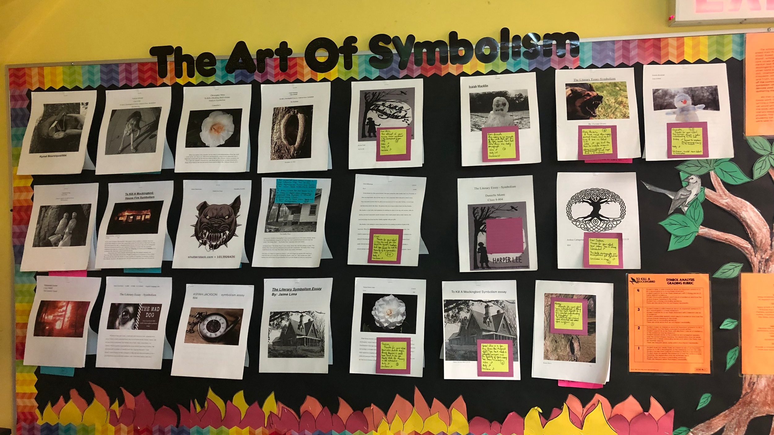 ELA project on Symbolism