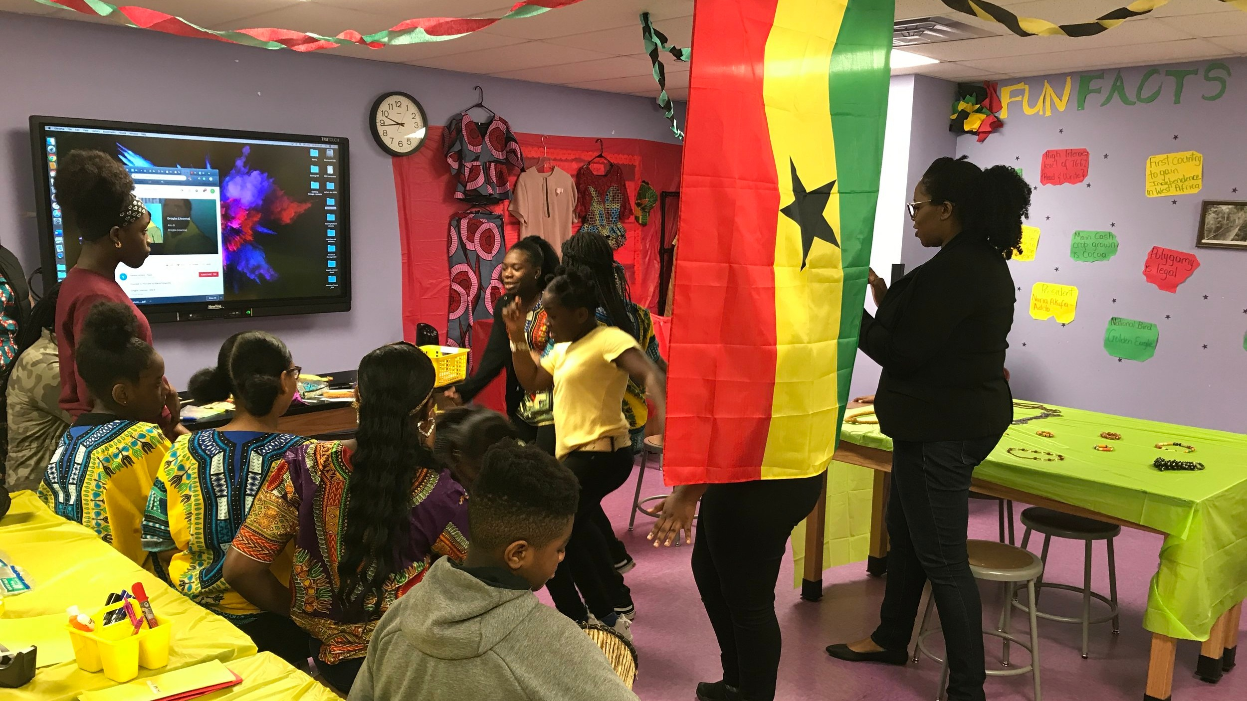 Scholars learn about different countries and cultures on the annual Multicultural Day.