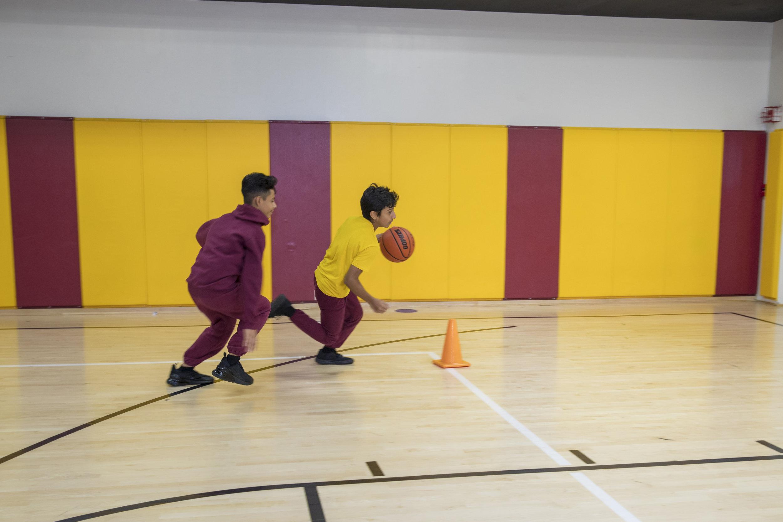 CCMS Basketball